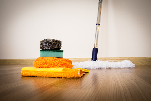 House,Cleaning,-cleaning,Accessories,On,Floor